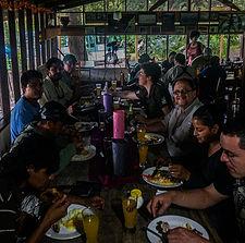 Lunch in EI Cortijo